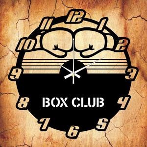 BOX CLUB falióra - INGYEN szállítással, Lakberendezés, Otthon & lakás, Falióra, óra, Mindenmás, Újrahasznosított alapanyagból készült termékek, Ajándékozz egyedi bakelit órát szeretteidnek! \n\nA csomag tartalma:\n1 db a választott téma szerinti b..., Meska