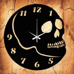 KOPONYA falióra - INGYEN szállítással, Lakberendezés, Otthon & lakás, Falióra, óra, Mindenmás, Újrahasznosított alapanyagból készült termékek, Ajándékozz egyedi bakelit órát szeretteidnek! \n\nA csomag tartalma:\n1 db a választott téma szerinti b..., Meska
