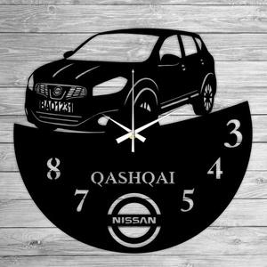 QASHQAI bakelti falióra, Lakberendezés, Otthon & lakás, Falióra, óra, Mindenmás, Újrahasznosított alapanyagból készült termékek, Ajándékozz egyedi bakelit órát szeretteidnek! \n\nA csomag tartalma:\n1 db a választott téma szerinti b..., Meska