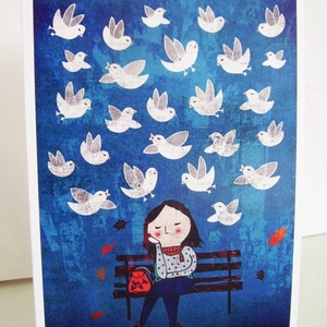 Vedd észre a csodákat! képeslap (schalleszter) - Meska.hu