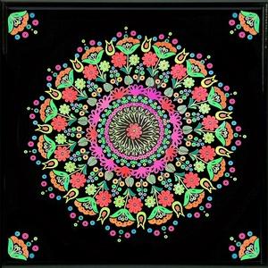 Meditáló Mandala  - Meska.hu