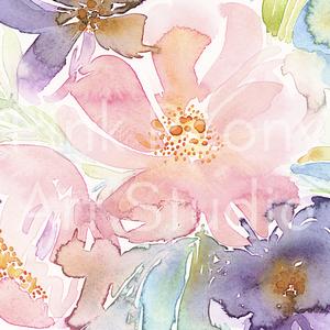 Akvarell art print Kora nyári szimfónia akvarell - A4-es méretben (akvarell festményem alapján) (PinkPeonyArtStudio) - Meska.hu