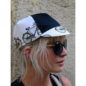 Serin bicikli mintás kerékpáros sapka 3., Sapka, Sál, Sapka, Kendő, Ruha & Divat, Varrás, A biciklis sapkák megvédenek a naptól széltől, esőtől mindentől:)\nMéretét tekintve eddig az esetek 9..., Meska