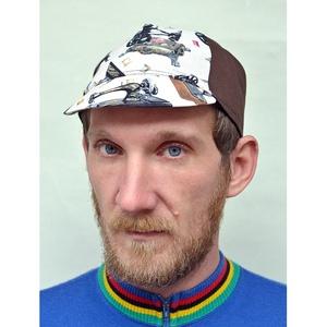Serin  varrógépó mintás biciklis sapka  - Meska.hu