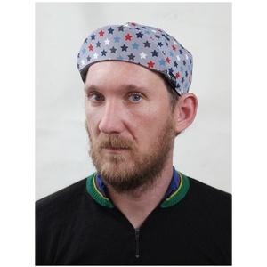 Serin szürke csillagos kerékpáros sapka  (serin) - Meska.hu