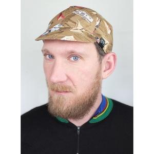 Serin kampingező mintás kerékpáros sapka , Férfiaknak, Táska, Divat & Szépség, Sál, sapka, kesztyű, Ruha, divat, Sapka, Varrás, A biciklis sapkák megvédenek a naptól széltől, esőtől mindentől:)\nMéretét tekintve eddig az esetek 9..., Meska