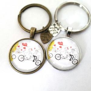 Névre szóló vagy  egyedi képes kulcstartó 1 db, Táska & Tok, Kulcstartó & Táskadísz, Kulcstartó, Mindenmás, \nÍrj, ha többet vennél és módosítom a kiírást.\n\nÜveglencsés egyedi kulcstartó, általad választott ké..., Meska