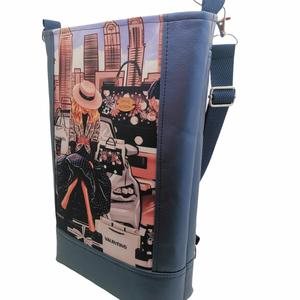 Csajos 3in1 táska / Ha akarom Válltáska ha akarom Hátizsák  - táska & tok - hátizsák - roll top hátizsák - Meska.hu