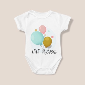 Születésnapi egyedi body , Ruha & Divat, Babaruha & Gyerekruha, Body, Fotó, grafika, rajz, illusztráció, Csodás szülinapi body!Válassz gyermeked jeles napjára egyedi, feliratos bodyjaink közül melyek egész..., Meska