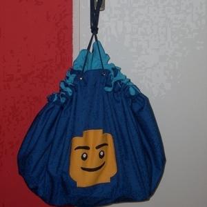 Lego tárolózsák és játszószőnyeg , Otthon & Lakás, Lakástextil, Varrás, Meska