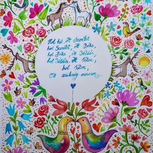 Házi Áldás, Otthon & Lakás, Spiritualitás & Vallás, Házi áldás, Fotó, grafika, rajz, illusztráció, Nem print!\nBízom benne, örömet okoz majd a ház minden lakójának. Ezek a képek emlékeztetnek arra, ho..., Meska