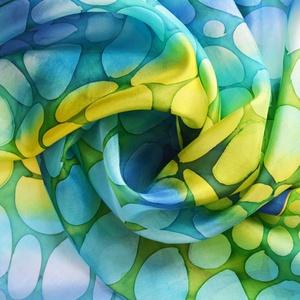 animalONme selyemkendő kaméleon mintával (silkandmore) - Meska.hu