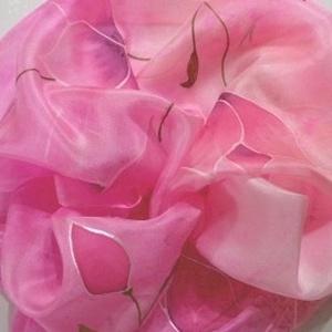 Romantikus selyemsál (Silkmagic) - Meska.hu