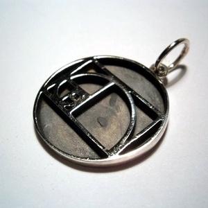 Fibonacci spirál medál ezüstből , Ékszer, Nyaklánc, Medál, Ékszerkészítés, Ötvös, Meska