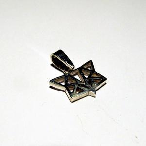Ezüst rókafej origami medál - Meska.hu
