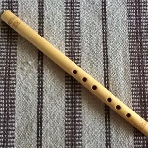 """dunántúli hatlyukú furulya - \""""C\"""", Egyéb, Hangszer, zene, Famegmunkálás, Népi játék és hangszerkészítés, A Kárpát-medencében hatlyukú pásztorfurulya-típusok egyik jellegzetes képviselője a dunántúli furuly..., Meska"""
