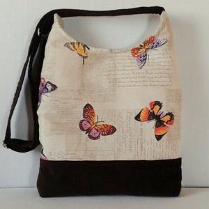 Színes pillangós női táska (smagdi) - Meska.hu