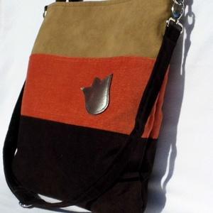 Háromszínű női táska (smagdi) - Meska.hu