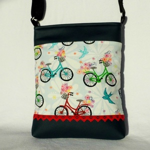 Biciklis női táska (smagdi) - Meska.hu