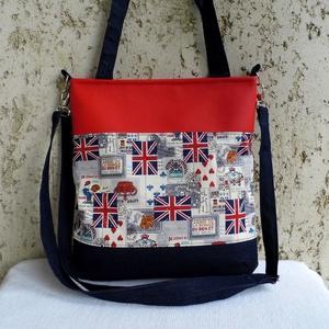 LONDON - pakolós női táska, Táska & Tok, Nagy pakolós táska, Kézitáska & válltáska, Varrás, Meska