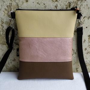 Háromszínű női kistáska , Táska & Tok, Vállon átvethető táska, Kézitáska & válltáska, Varrás, Meska