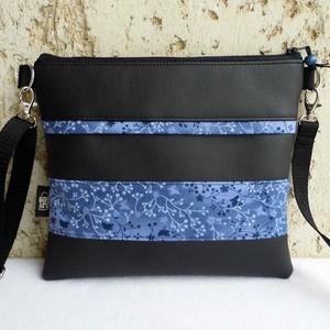 Virágos táska, Táska & Tok, Vállon átvethető táska, Kézitáska & válltáska, Varrás, Meska