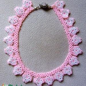 Virágzó almafa világos rózsaszín nyaklánc  (Smilylana) - Meska.hu