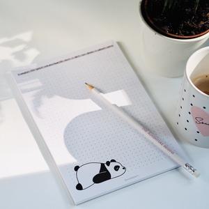 A5ös pandás  jegyzettömb, Otthon & Lakás, Papír írószer, Naptár & Tervező, Fotó, grafika, rajz, illusztráció, Meska