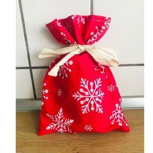 Mikulás zsák, Karácsony & Mikulás, Mikulás, Varrás, Idén csomagold a gyerkőcök Mikulás napi finomságait 100% pamut zsákocskába, műanyag helyett! ????\n\nN..., Meska