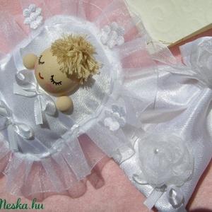 Babuci,  a kabala-pólyás...ünnepi erszénnyel /Rendelhető!!!/, Játék & Gyerek, Ember, Plüssállat & Játékfigura, Ha esküvőre készülsz és szeretnéd az ifjú párt meglepni valami kedves-mókás ajándékkal, akkor Neked ..., Meska