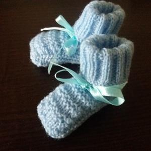 Újszülöttnek baby kispampó blue (Solange) - Meska.hu