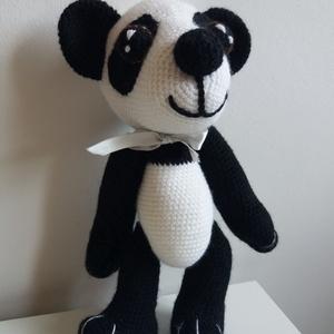 Panda mackó mama, Játék & Gyerek, Maci, Plüssállat & Játékfigura, Horgolás, Varrás, Meska