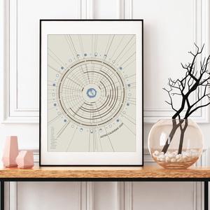 Asztro Kalendárium 2020 - Poszter / AC006, Otthon & lakás, Naptár, képeslap, album, Naptár, Lakberendezés, Falikép, Asztrológiai naptár 2020. – Színkód: AC006  A hagyományos naptárfunkciója mellett, amelyet már jól i..., Meska