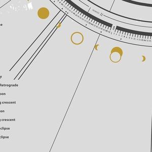 NYOMTATHATÓ - Asztro Kalendárium 2020. / ACY011SIT-IP (Solmate) - Meska.hu