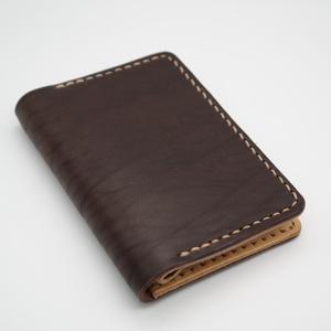 Virgil pénztárca, Táska, Divat & Szépség, Táska, Pénztárca, tok, tárca, Pénztárca, Bőrművesség, Közepes méretű pénztárca, 4 kártyazsebbel, zippzáras aprótartóval, bankjegyek félbehajtva férnek bel..., Meska