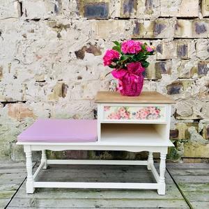 Telefonasztal, előszoba pad (Sophita) - Meska.hu