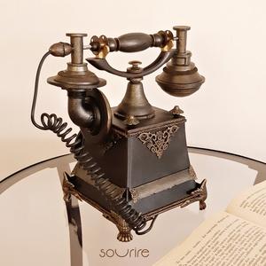 Antik telefon  - otthon & lakás - dekoráció - dísztárgy - Meska.hu