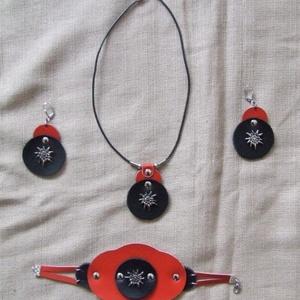 Kétfunkciós kicsi piros női táska (spalti51) - Meska.hu