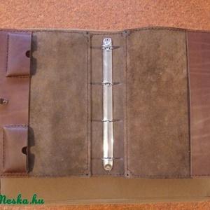 A/4-es bőrmappa (spalti51) - Meska.hu