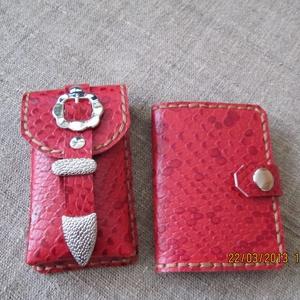 EGYÜTT  OLCSÓBB!!! Mobiltelefon tartó és kártyatartó hölgyeknek (spalti51) - Meska.hu