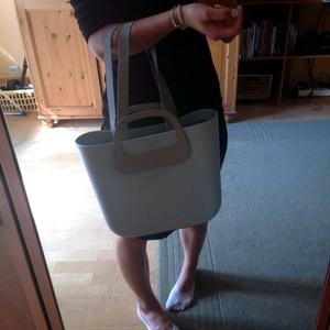 O bag táskafül rövid fülek kiegészítéséhez valódi bőrből - Meska.hu