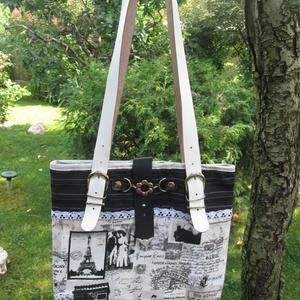 Vintage nosztalgia táska kisebb méretben, Táska & Tok, Válltáska, Kézitáska & válltáska, Bőrművesség, Varrás, Meska