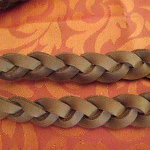 Fonott o bag fül szép közép barna színben,hosszabb méretben - Meska.hu