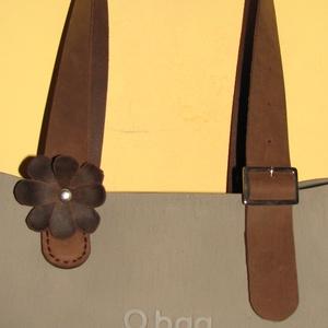 O bag kompatibilis táskafül egyben csattal és virádísszel - Meska.hu