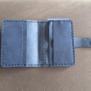 Személyigazolvány és bankkártya tartó átlátszó ,,ablakkal