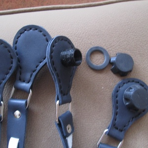 O Bag kompatibilis fül barna színek variációjában - Meska.hu