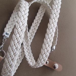 Csodaszép bőrhatású hevederből készült pántok,klippel,vagy tappanccsal (spalti51) - Meska.hu