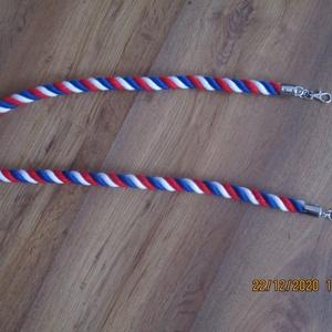 Hosszú kötél pántok, Táska & Tok, Kézitáska & válltáska, Mindenmás, -tricolor színűkötélből készítettem  az egyik hosszú pántot-ez 100 cm-es\n-a másikat pedig natúr köté..., Meska