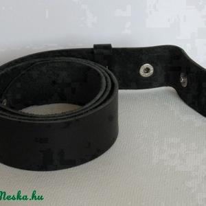 Fekete patentos őv (spalti51) - Meska.hu