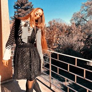 Nadya kötény, Táska, Divat & Szépség, Ruha, divat, Női ruha, Ruha, Varrás, A kötény a ruházat védelmét és díszítését szolgáló unikális ruhadarab, amelyet bizony az ókortól kez..., Meska